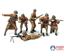 35288 Tamiya 1/35 Франнцузские пехотинцы French Infantry